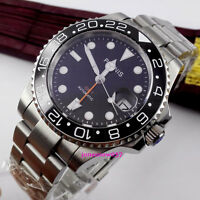 Hot Sell 40mm GMT Automatic Men's Watch Sapphire Glass Ceramic Bezel With Box