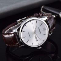 CORGEUT MIYOTA Date Week Sapphire Crystal Automatic Men's Watch Deployment Clasp