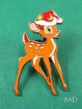 Disney Pin DLRP Noel Christmas 20th Anniversary - Bambi w/ Christmas Santa Hat