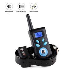 Remote Training Collar Pet training System Bark Stop Collar Dog Training Collers