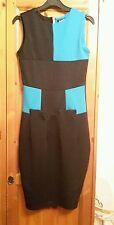 Women's Bodycon Panelled Sleeveless Dress