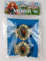 Disney Theme Parks Merida Brave Hair Accessory Clips New