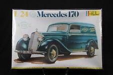 YS010 HELLER 1/24 rare maquette voiture 736 Mercedes 170 année 1983