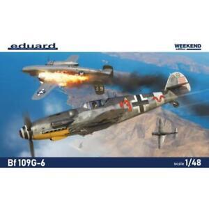 Eduard 84173 1/48 Messerschmitt Bf 109G-6 Plastic Model Kit Brand New