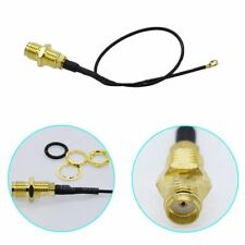 2Pcs IPEX/MHF4 to RP-SMA Antenna Pigtail  Cute WIFI/WLAN/3G/4G Item Hot