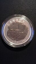 2008 Canada $4 Triceratops Dinosaur Collection Coin