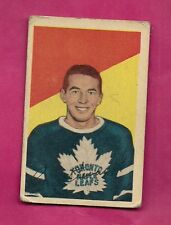 1952-53 PARKHURST # 94 LEAFS RON STEWART ROOKIE VG CARD (INV# 9664)