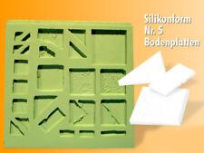 Silikonform, Bodenplatten selber giessen, Nr. 5 Krippenbau, LGB Gartenbahn