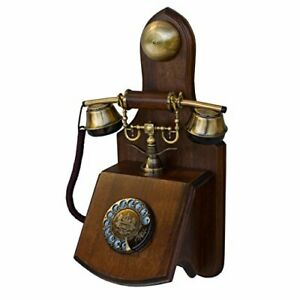 OPIS 1921 CABLE - MODEL D - wall-mounted vintage phone/retro telephone with wood