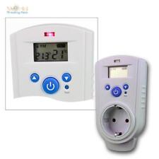 Steckdosenthermostat ST-35, Thermostat Stecker Thermoschalter für Steckdose