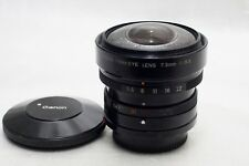 Canon FD 7.5mm f5.6 Fisheye Lens  *Excellent*