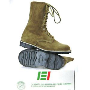 Anfibi militari Esercito Italiano Desert Gronell Originali NUOVI