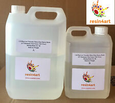 Low Viscosity Ultra-Clear Epoxy Resin [UV Resistant] 5kg Kit