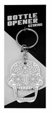 1 X Day of the Dead Sugar Candy Skull Key Chain Bottle Opener
