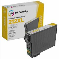 LD Remanufactured Epson 212XL T212XL420 High Yield Yellow Ink Cartridge