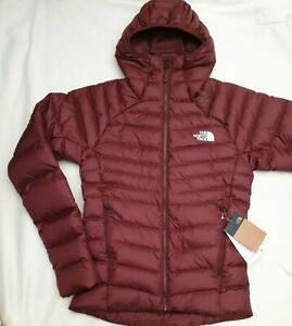 THE NORTH FACE MEN'S JACKET SEQUOIA RED HOMETOWN HOODIE DOWN  XS  RRP £250
