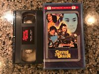 Survival Of A Dragon Vhs! 1973 Action! Regal Video!