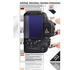 6x Displayschutzfolien für Canon EOS 600D Schutzfolie Klar Folie Displayfolie
