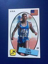 1987 Panini CARD Sticker Carl Lewis Supersport #69 Athletics New !!!