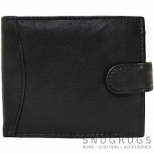 Mens 100% Soft Genuine Leather Wallet / Money Holder with Multiple Features