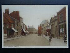 More details for rutland oakham high street showing furley & co. shop - old postcard