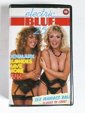 Electric Blue 25 Denmark 1989 Retail VHS Video