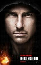 POSTER MISSION IMPOSSIBLE 2 3 4 GHOST PROTOCOL PROTOCOL GHOST TOM CRUISE #1