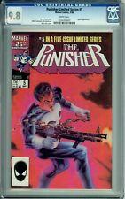 PUNISHER LIMITED SERIES 5 CGC 9.8 WP JIGSAW  MARVEL COMICS 1986