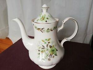 Colclough Sedgley coffee pot 2 pint floral