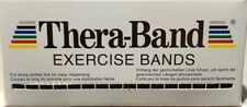 TheraBand Resistance Bands 6 Yard Roll Professional Latex Elastic Band Black