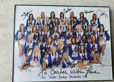 Rare Dallas Cowboy Cheerleader 2000-2001 Autographed Photo Collectible NFL Footb