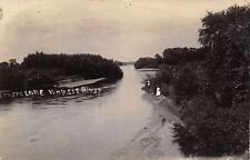 Wheatland KS~Little Wapsi River~Commencement Exercise~Cong~Kannsem RPPC c1914