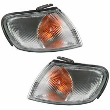 NISSAN ALMERA 1995-1998 FRONT INDICATORS CLEAR 1 PAIR O/S & N/S