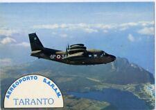 AERONAUTICA MILITARE Aeroporto SARAM di Taranto PIAGGIO P 166 in volo NV RARA