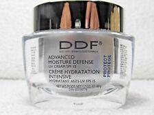 NEW DDF PROTECT ADVANCED MOISTURE DEFENSE UV CREAM SPF 15 1.7 OZ NO BOX