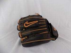 "Nike Game Ready de Prespect N-flex Youth Baseball Glove RH Gold Black 8"""
