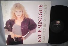 "LP KYLIE MINOGUE I Should Be So Lucky 12"" 3 TRACKS NEAR MINT"