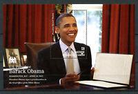 Mustique Gren St Vincent 2013 MNH US President Barack Obama I 1v S/S Stamps