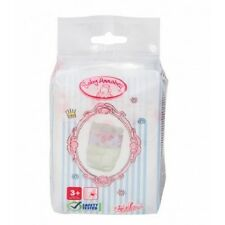 NEW ZAPF CREATIONS BABY ANNABELL 5 PACK DIAPERS 792308