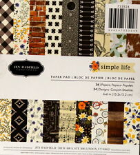 Pebbles Jen Hadfield Simple Life 6 x 6 Scrapbook Paper Pad
