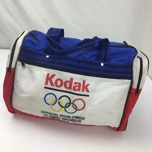 "Kodak Official Worldwide Olympic Sponsor Gym Tote Bag Vintage 18"" x 12"""