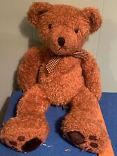 Russ Berrie & Co Teddy Bear Wembly Brown Shaggy 18�