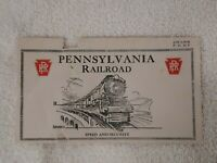 PENNSYLVANIA RAILROAD antique ticket Envelope om NYC GRAND CENTRAL STATION