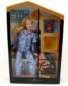 Limited Edition 2004 Paul Frank Barbie in Blue Pajamas B8954 NIB