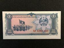Lao Laos 1 Kip 1979 UNC Uncirculated Banknote