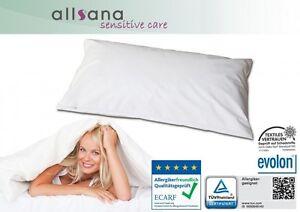 Allsana Allergiker Kissenbezug 40x80 cm Encasing Anti Milben Bettwäsche