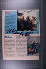 More details for blue cheer signed dickie peterson paul whaley duck macdonald magazine page