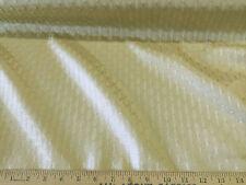Discount Fabric Upholstery Drapery Jacquard Light Gold Lattice DR03
