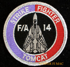 STRIKE FIGHTER TOPGUN F-14 TOMCAT PATCH USS NAS US NAVY PILOT CREW GIFT FIGHTER