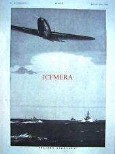 1943 'FAIREY Aircraft' WW2 Airplane Advert - Original Wartime Print Ad